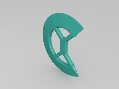 圆刀模型-3d打印模型