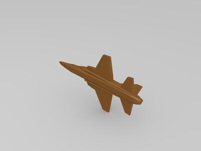 虎鲨飞机模型-3d打印模型