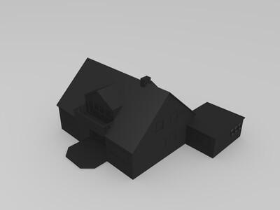 瑞典之家-3d打印模型