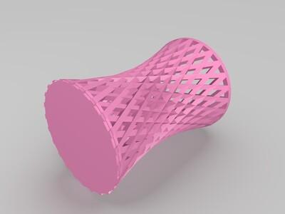 防积水的筷子笼-3d打印模型