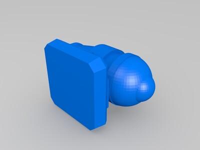 加农炮-3d打印模型