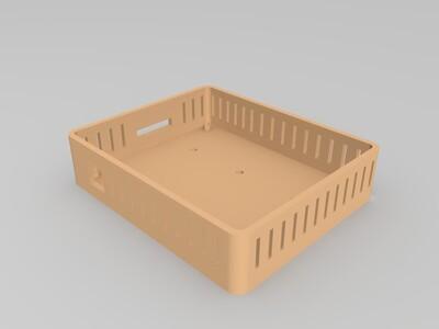 melzi 主板盒-3d打印模型