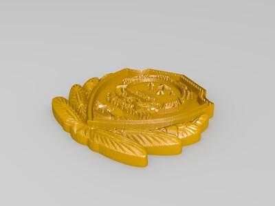 玉雕-国徽