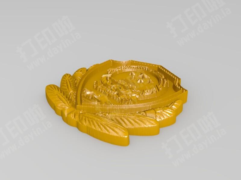 玉雕-国徽-3d打印模型