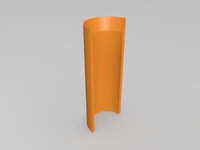涡喷发动机-3d打印模型