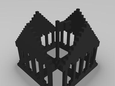 殿堂-3d打印模型
