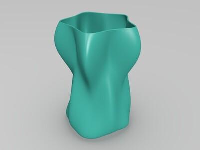 高精度个性杯子3-3d打印模型