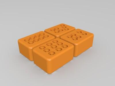 麻将全套-3d打印模型