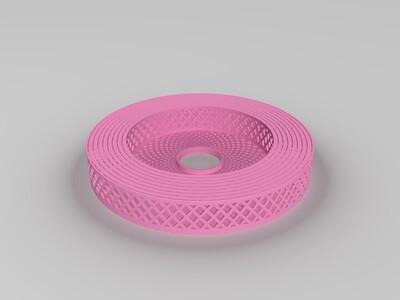 伸缩灯罩-3d打印模型