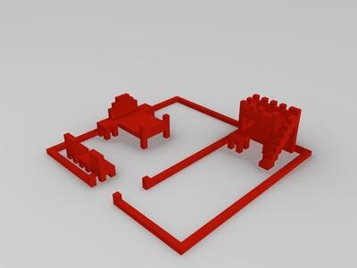 家居-3d打印模型