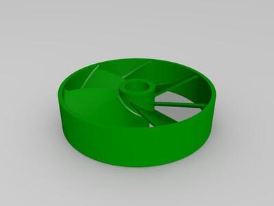 6mm内径风扇-3d打印模型