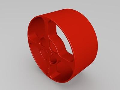 管道风扇 -3d打印模型