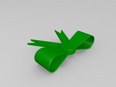蝴蝶结-3d打印模型