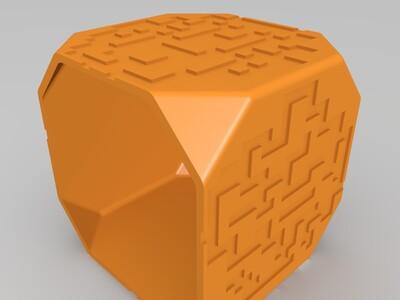迷宫投影手灯-3d打印模型