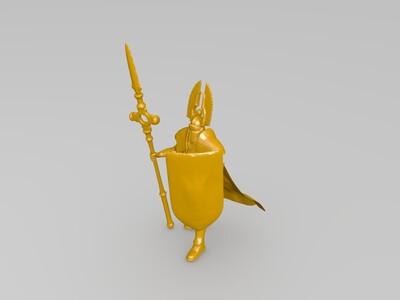 英雄无敌6  角色-3d打印模型