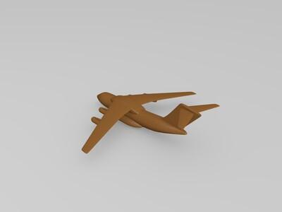 运-20运输机-3d打印模型