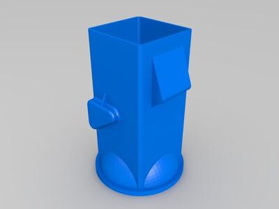 拖拉机-3d打印模型