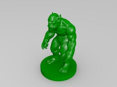 冥王-3d打印模型