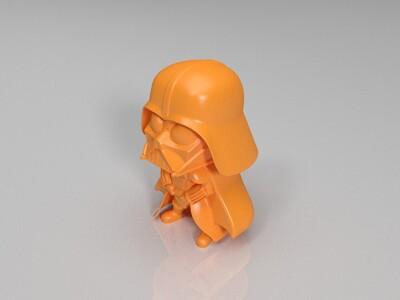 Q星球大战士兵-3d打印模型
