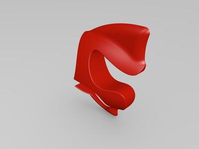 鱼 -3d打印模型