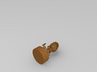 Q版路飞-3d打印模型