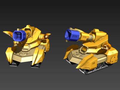 铁甲金牛-3d打印模型