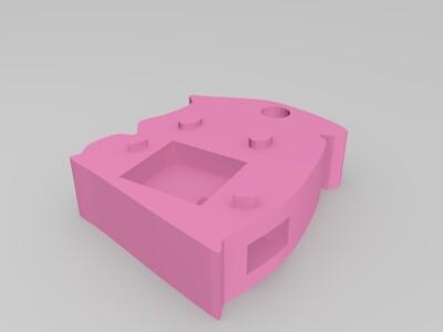 多功能仓鼠挂件-3d打印模型
