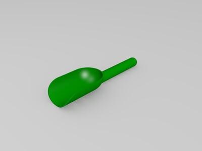 茶叶铲子-3d打印模型