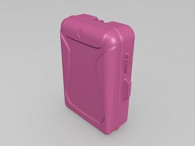 行李箱-3d打印模型