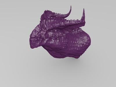龙头墙挂-3d打印模型