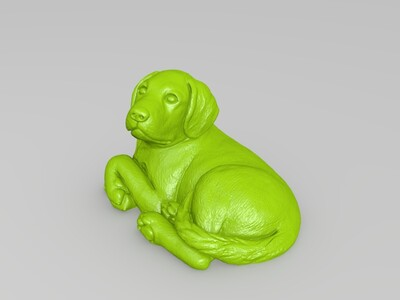 狗-3d打印模型