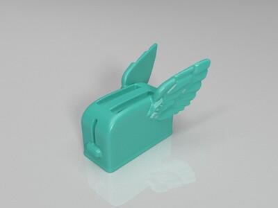 雷神托尔版面包机-3d打印模型