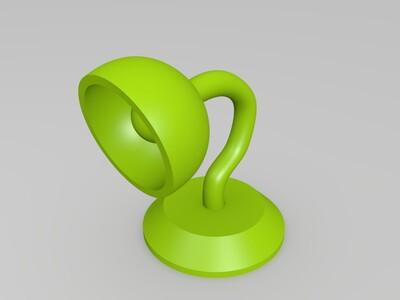 小台灯-3d打印模型