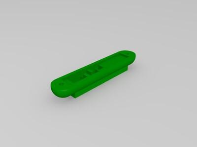 笔记本摄像头外壳-3d打印模型