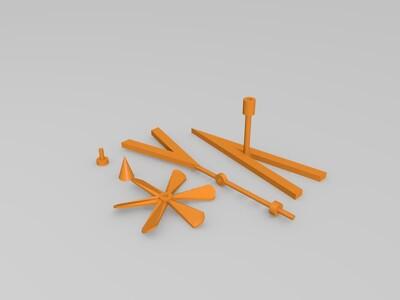 小风车-3d打印模型