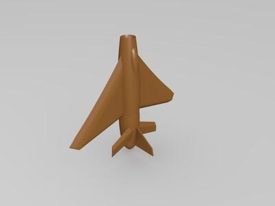 喷气式飞机-3d打印模型