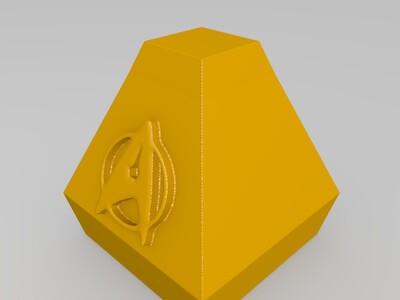 皮卡德-3d打印模型