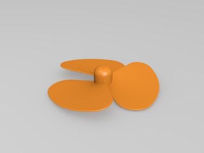 扇叶-3d打印模型