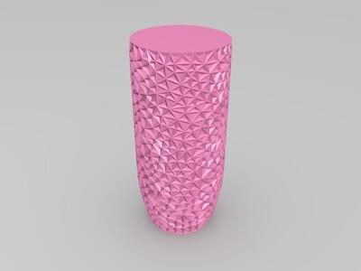 织物瓶子-3d打印模型