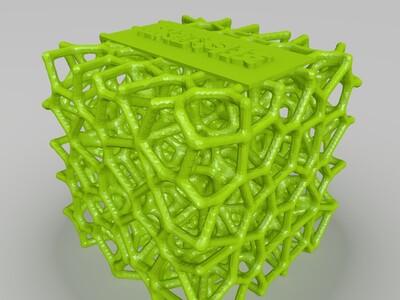 网格方块3-3d打印模型