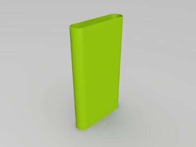 小米电源2保护壳-3d打印模型