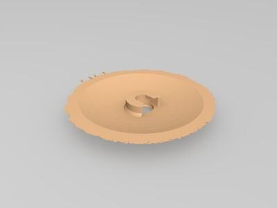 小王子 月球灯-3d打印模型