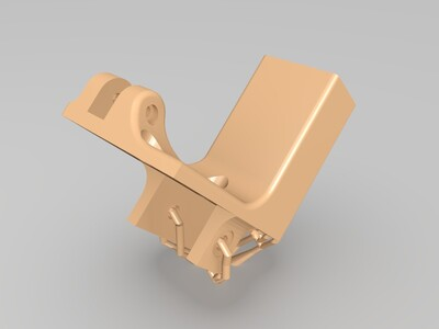悬臂打印机专用屏幕固定件-3d打印模型