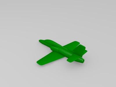 高级教练机-3d打印模型