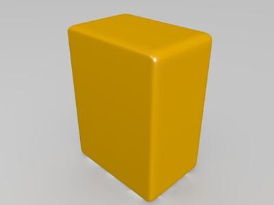 麻将——万子牌-3d打印模型