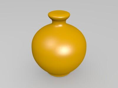 2花瓶-3d打印模型