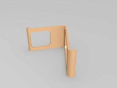 手机架(指环扣用)-3d打印模型