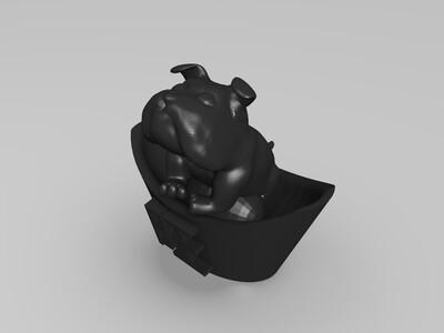 旺金狗-3d打印模型