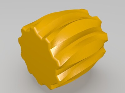 花边桶-3d打印模型