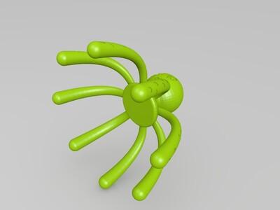 八爪鱼按摩器-3d打印模型
